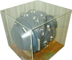 Primo modello di bomba atomica fisico