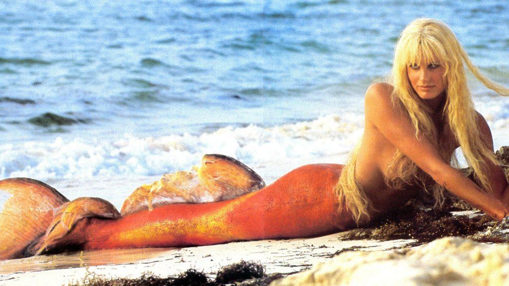 - Splash - Daryl Hannah nei panni (o meglio nelle pinne) di Madison, nella commedia anni '80 Splash