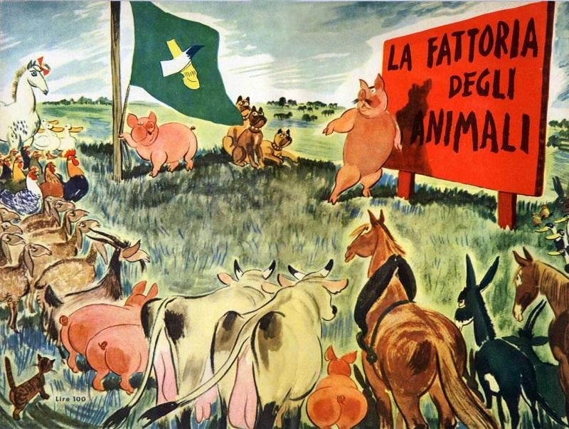 La fattoria degli animali - romanzo satirico allegorico di George Orwell