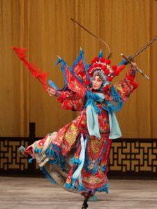 Opera di Pechino: ruoli e personaggi - 刀马旦 (dāomǎdàn)