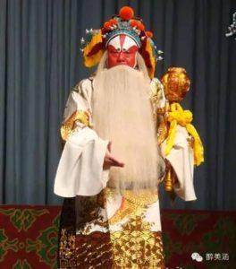 Opera di Pechino: ruoli e personaggi - 大花脸 (dàhuāliǎn)