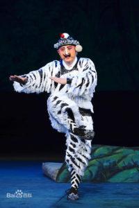 Opera di Pechino: ruoli e personaggi - 武丑 (wǔchǒu)