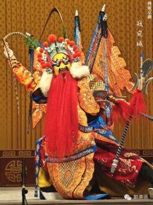 Opera di Pechino: ruoli e personaggi - 武花脸 (wǔhuāliǎn)
