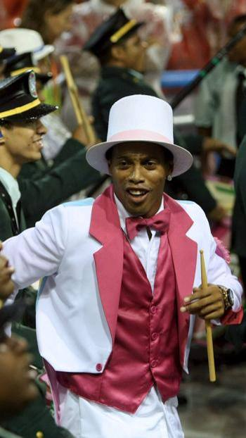 Ronaldinho al Carnevale di Rio