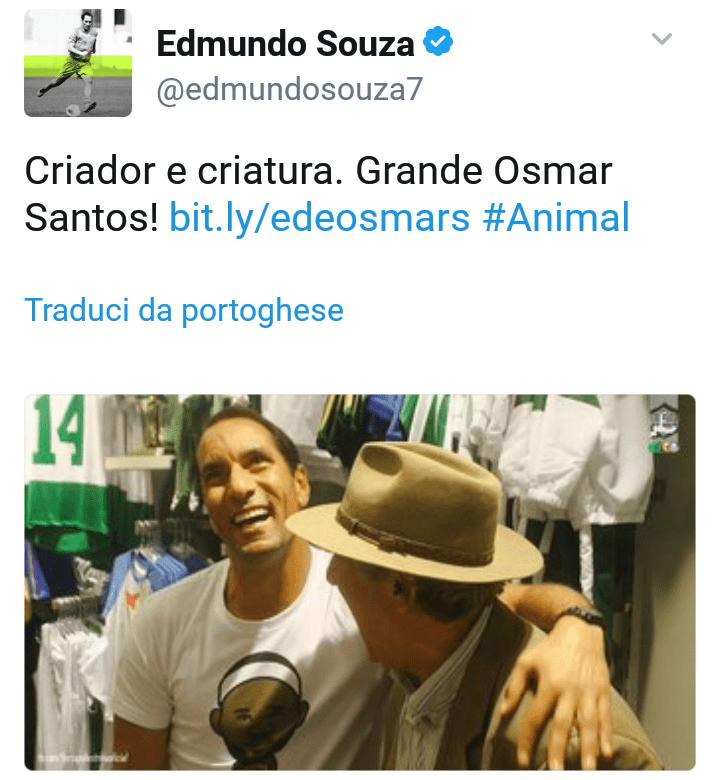 "Omas Santos e Edmundo ""O Animal"""