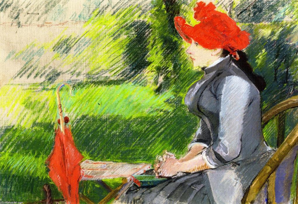 Donne in arte Eva Gonzales