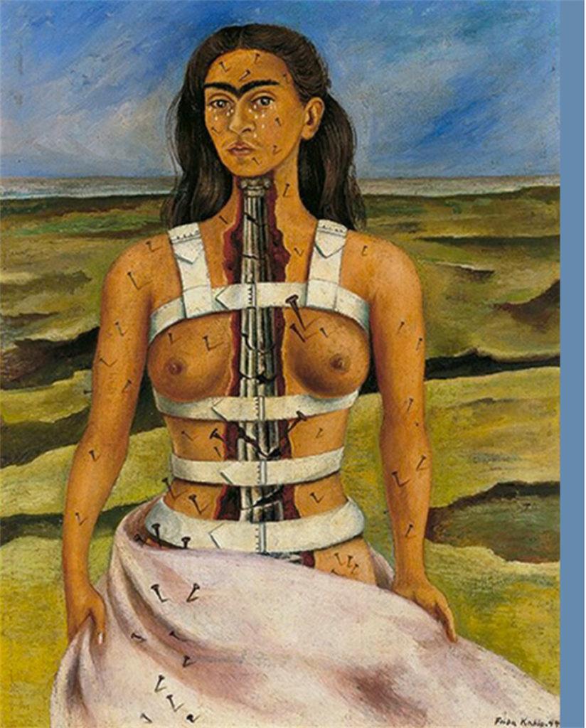"ALT=""Donne in arte - La colonna rotta - Frida Kahlo"""