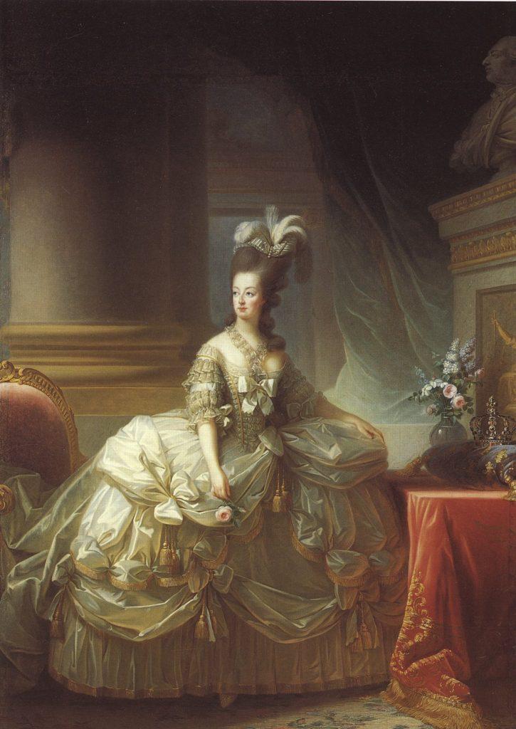 """ALR=""""Uno dei tanti ritratti di Maria Antonietta ad opera di Élisabeth-Louise Vigée-Le Brun."""""""
