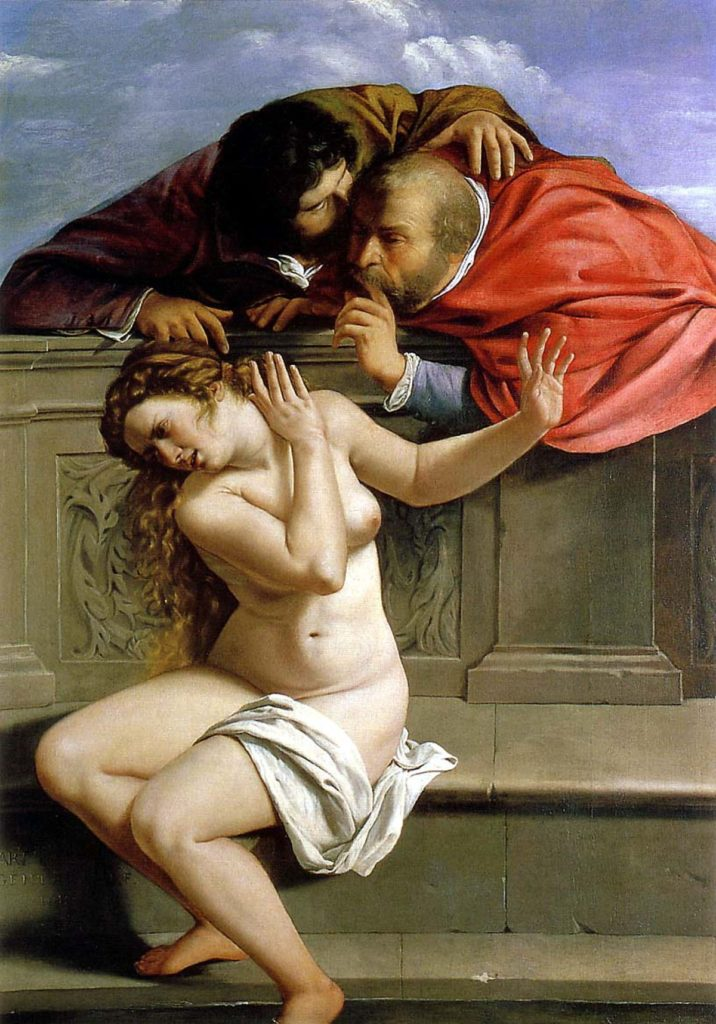 Viiolenza sulle donne - Donna Susanna e i vecchioni