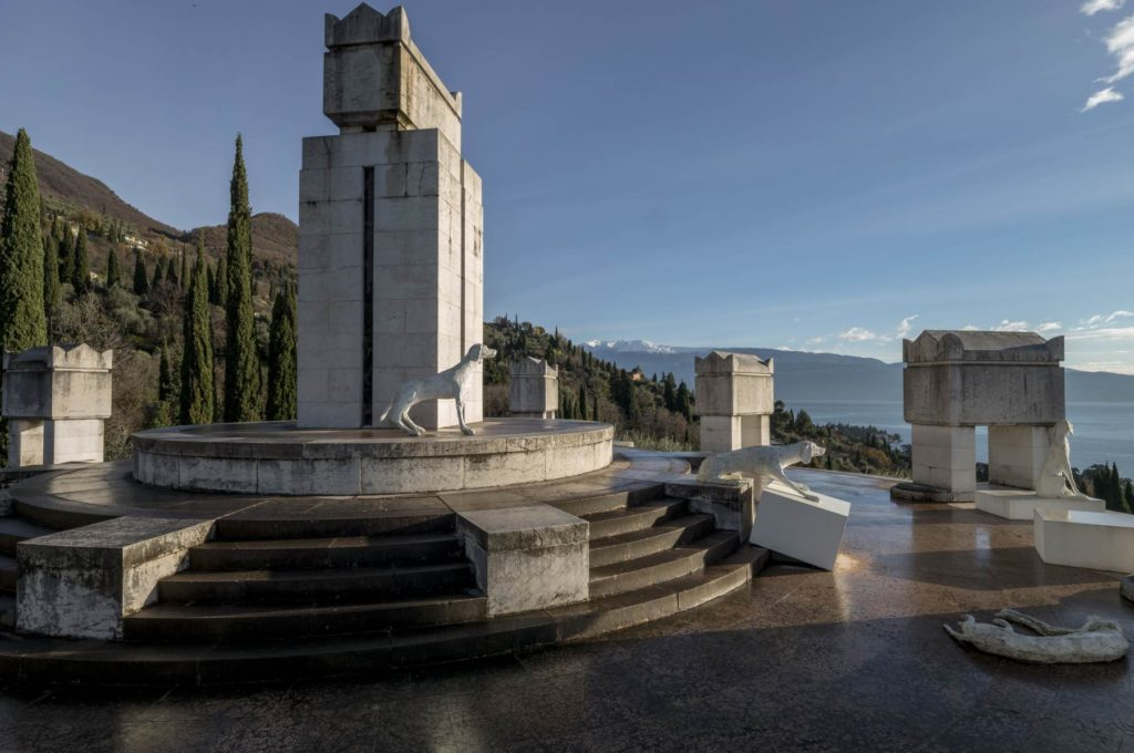 Vittorial: il Mausoleo