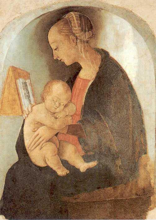 """ALT=""""Raffaello Madonna con bambino"""""""