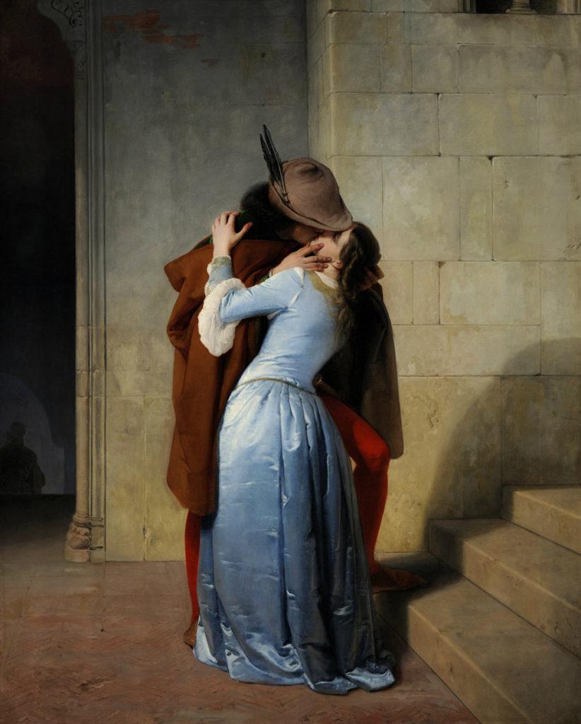 "ALT=""""Il bacio"" di Francesco Hayez"""
