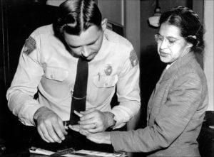 Rosa Parks schedatura