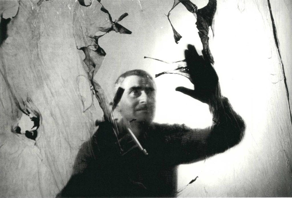 Ugo Mulas, Alberto Burri, 1963.