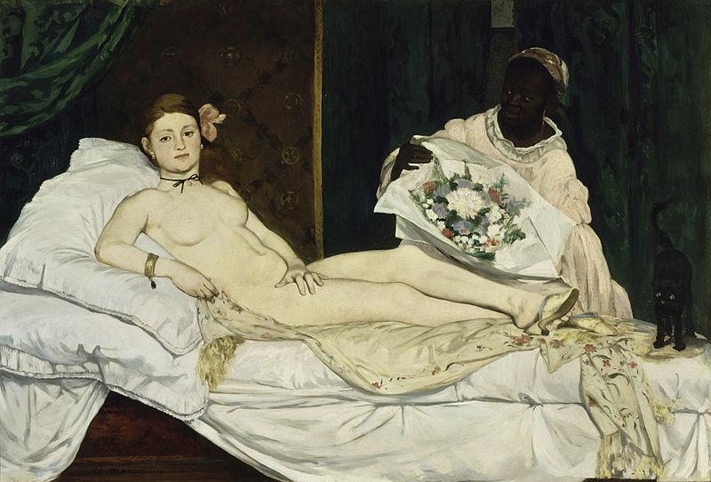 "ALT=""Impressionismo Manet Olympia"
