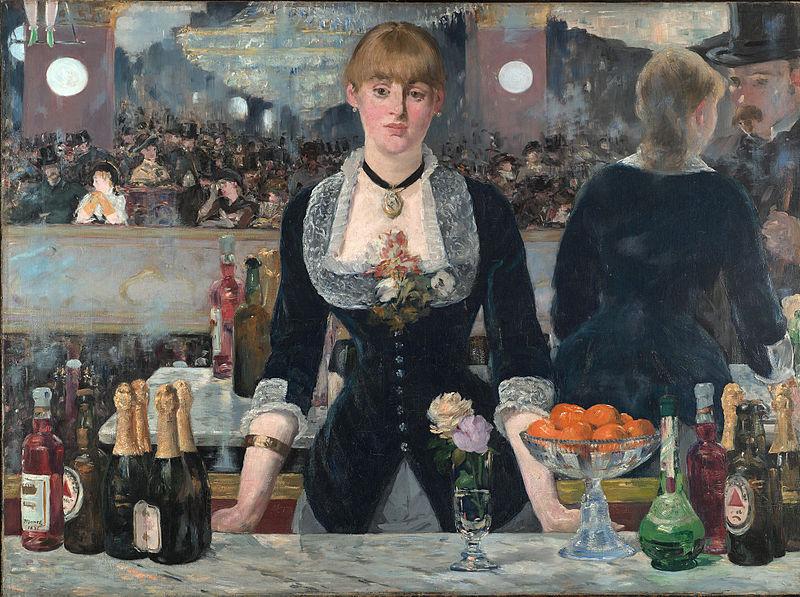 Impressionismo Manet Bar del folies