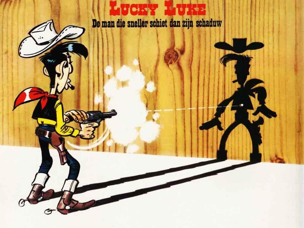 Lucky Luke difesa