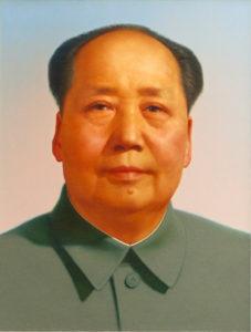 Pittura cinese - Ritratto di Mao