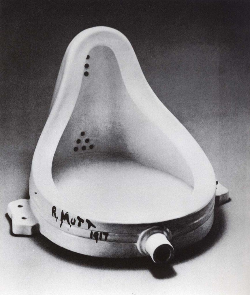 Marcel Duchamp, Fontana, 1917.
