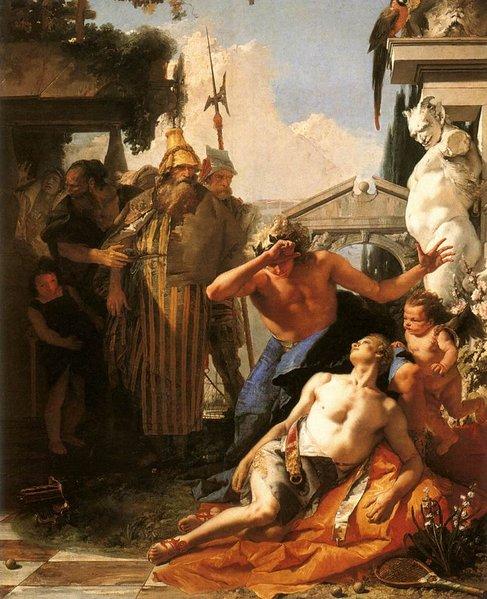 Morte di Giacinto Tiepolo