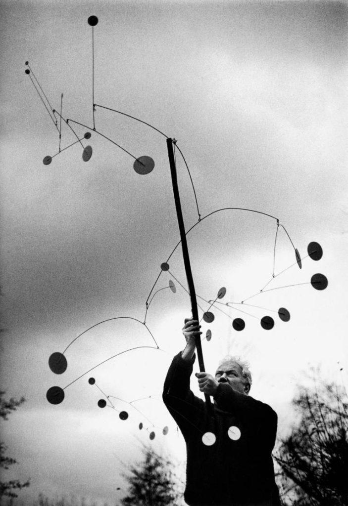 Ugo Mulas, Alexander Calder, Saché, 1963.