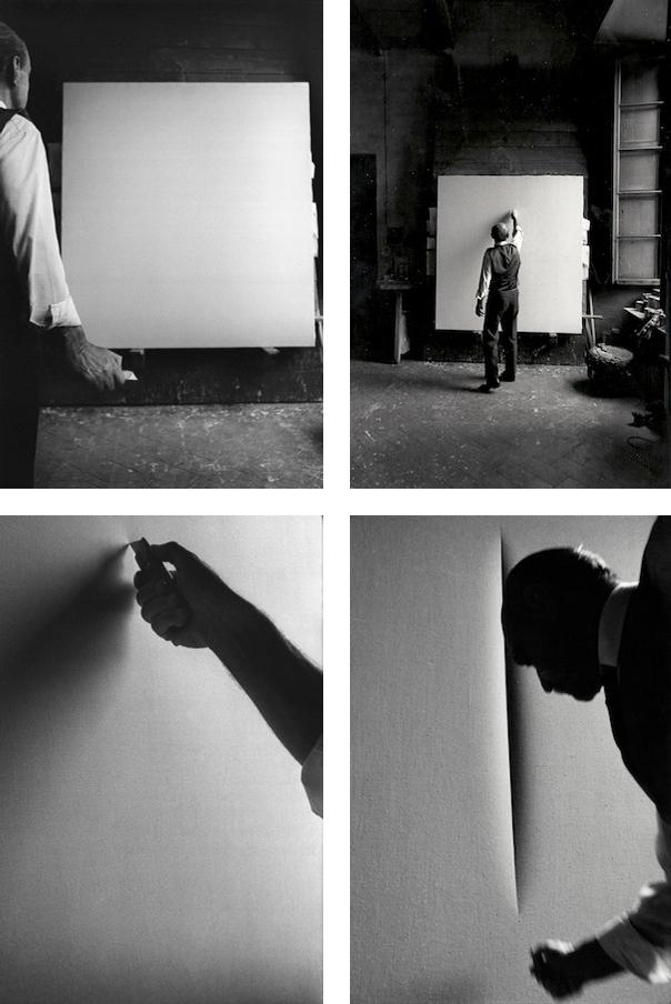 Lucio Fontana, <em>Concetto Spaziale</em>, <em>Attese</em>, 1967.