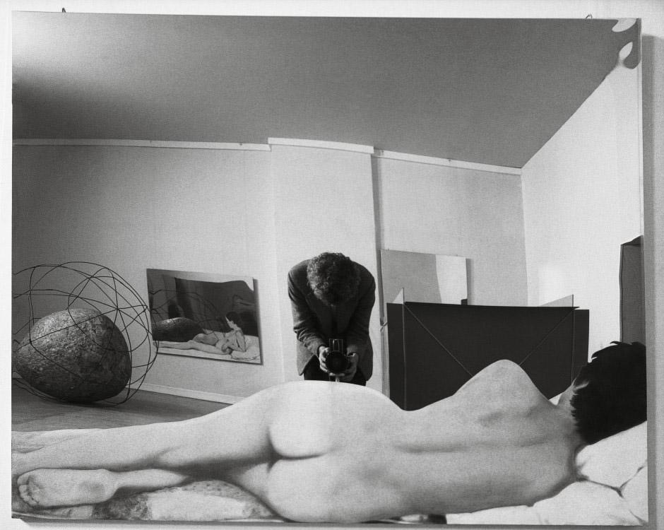 Ugo Mulas, Sala di Michelangelo Pistoletto. Vitalità del negativo, Roma, 1970.