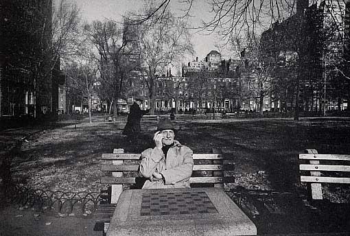 Ugo Mulas, Marcel Duchamp, New York, 1964.