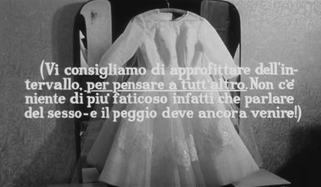 documentario di Pasolini sulle abitudini sessuali
