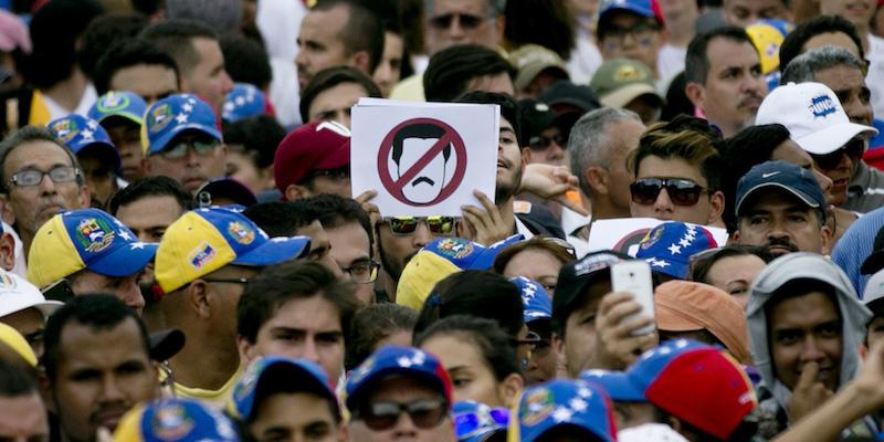 proteste venezuela maduro