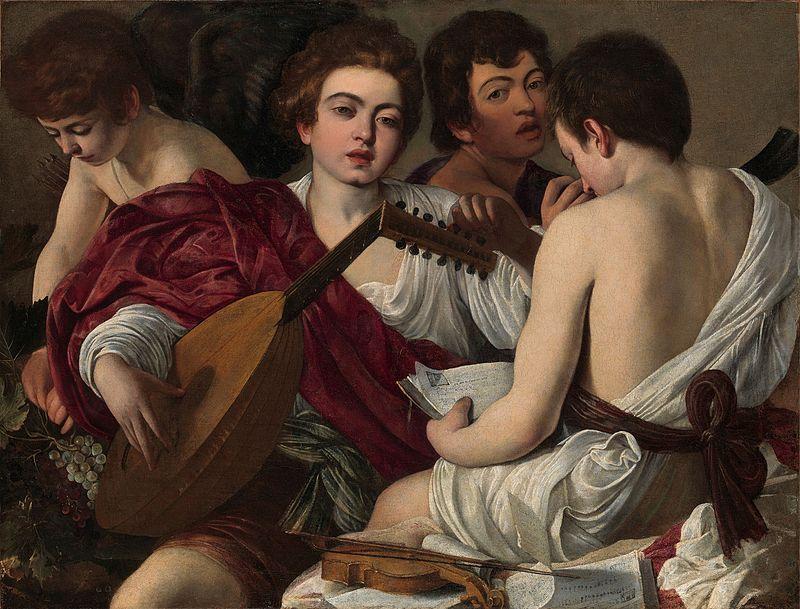 Musica in arte - Concerto (I Musici), Caravaggio