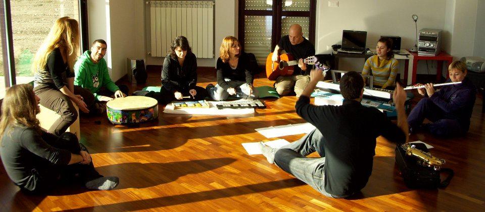 Musicoterapia di gruppo