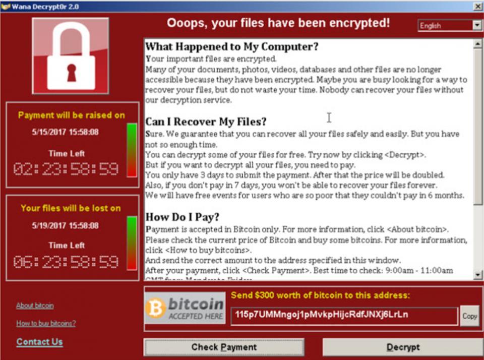 Ransomware Screen-Shot immagine