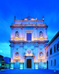 Auditorium San Barnaba di notte