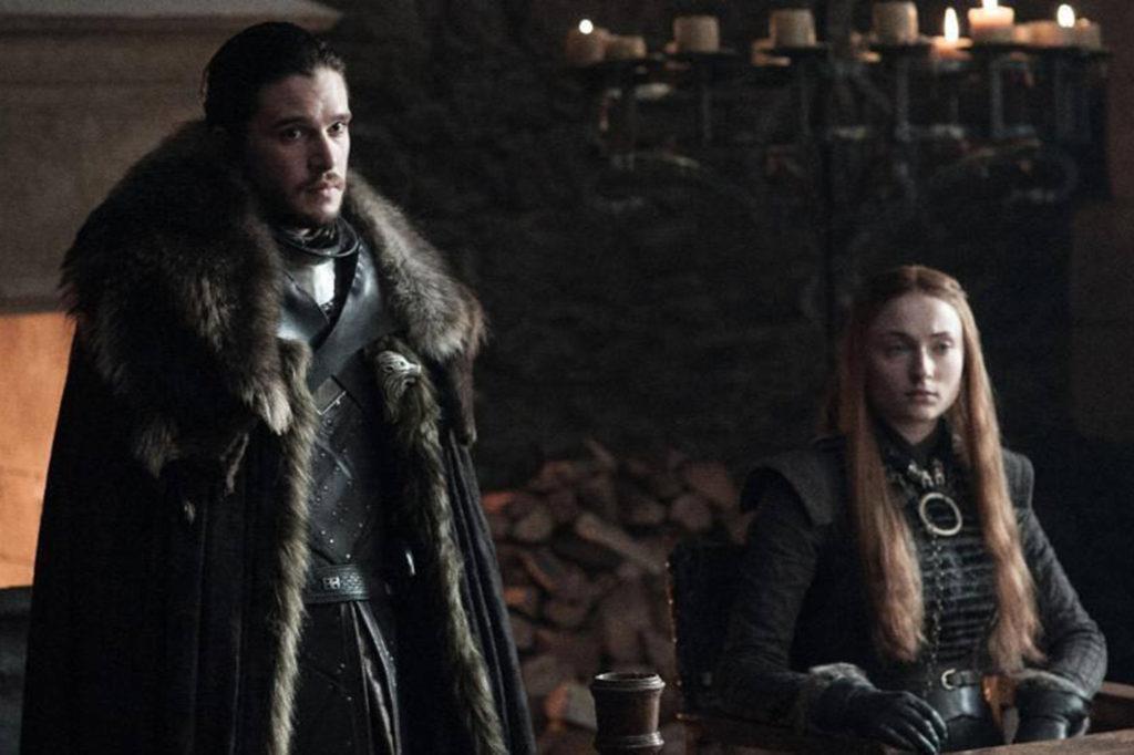 Grande Inverno - Jon Snow Sansa Starl