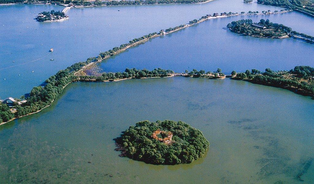 Palazzo d'Estate - Le tre isole del lago Kunming