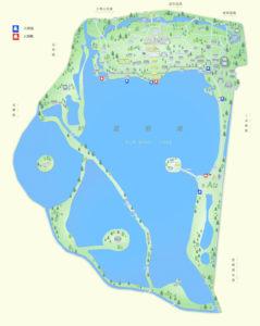 Cartina del Palazzo d'Estate