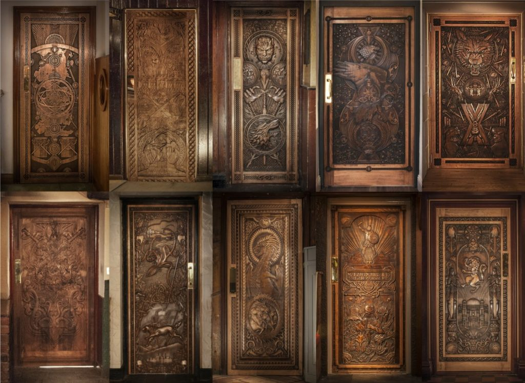 Le dieci Doors of Thrones