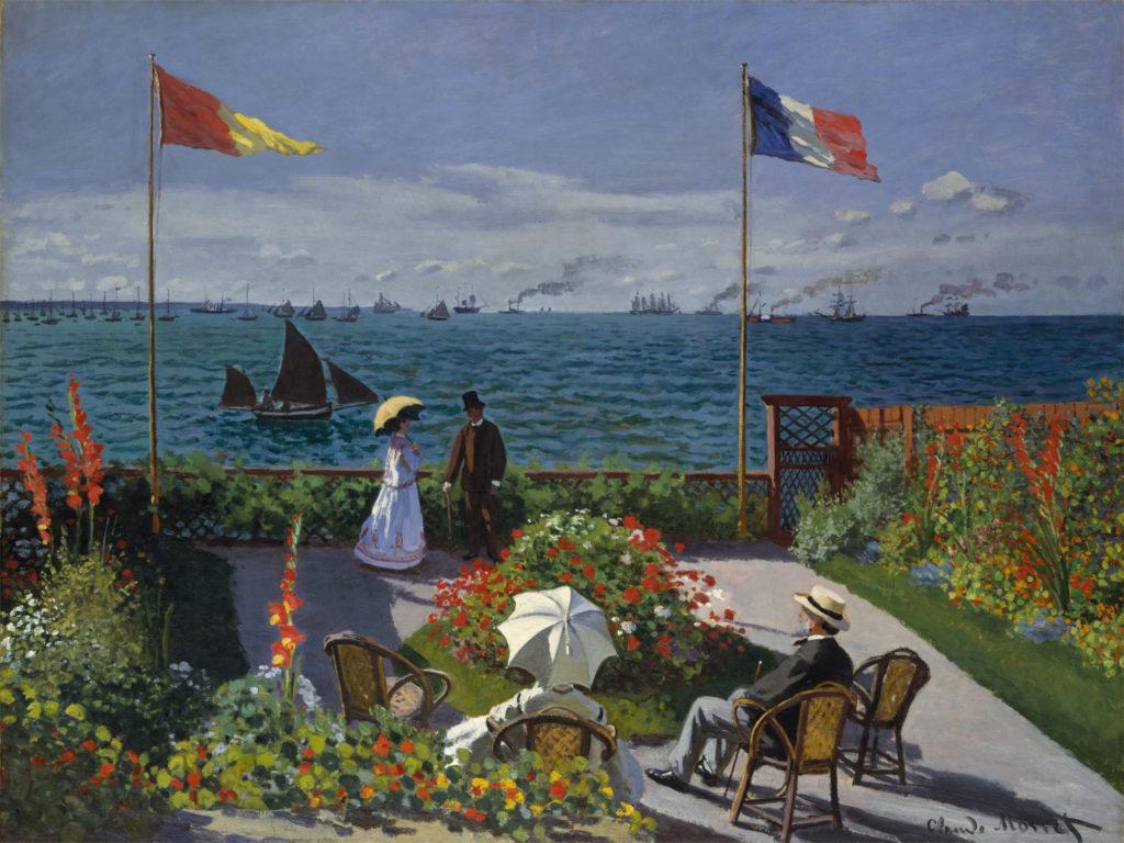"""""""Terrazze di Saint-Adresse"""" di Monet"""