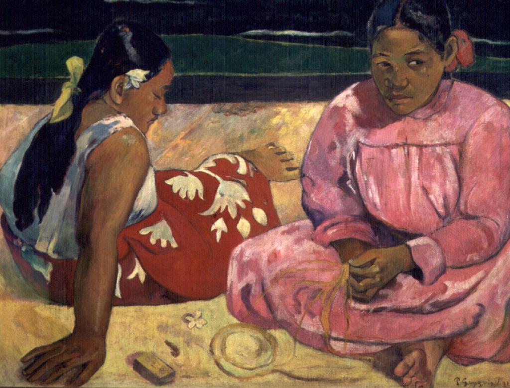 """Due donne thaitiane"" di Paul Gauguin"