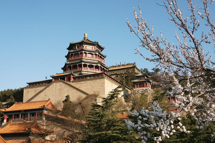 Palazzo d'Estate - Torre dell'incenso buddista