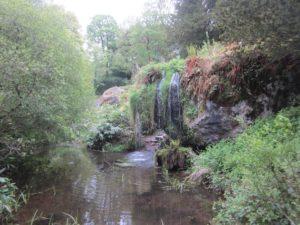 Blarney giardini cascata