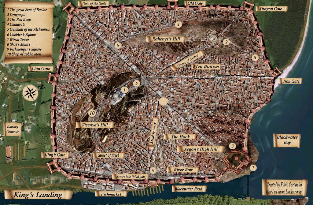 luoghi Cersei - Approdo del Re