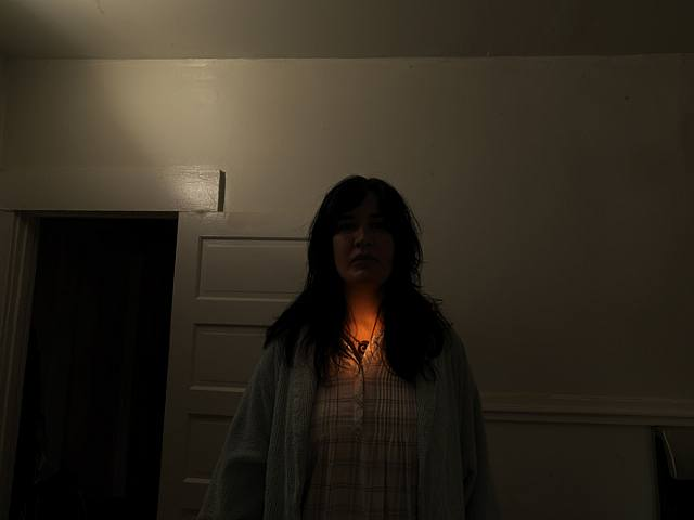 David Lynch, Untitled (Revenge #4), da Dark Night Of The Soul, 2009.