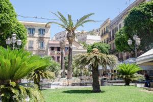 Piazza Yenne - Cagliari - marinare