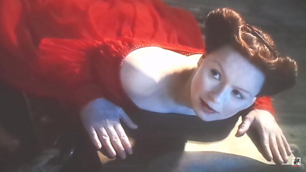 """Samantha Morton nel ruolo di Maria Stuarda, nel film """"Elizabeth, the golden age"""""""