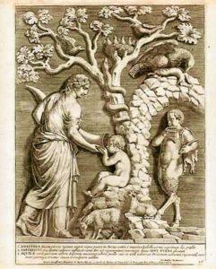 Amaltea, la capra e Zeus - formaggi