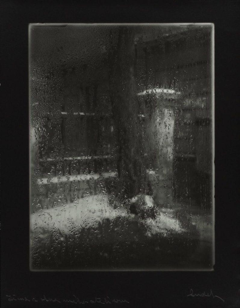 Josef Sudek, From the window of my atelier, 1950.