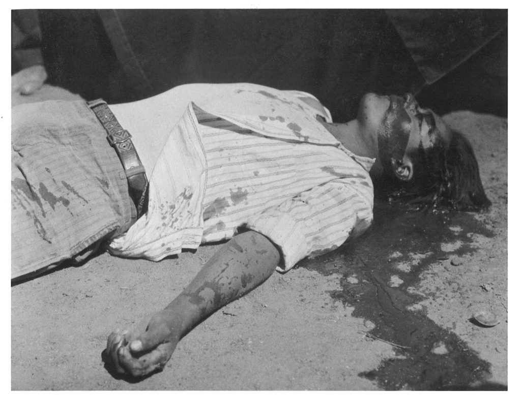 Manuel Álvarez Bravo, Striking Worker Assassinated, 1934.