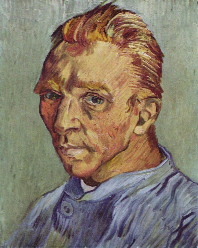 "ALT=""Van Gogh autoritratto"""